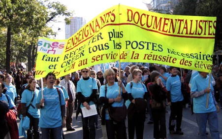 cortège documentalistes